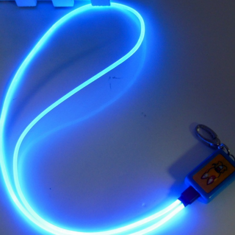 LED optical fiber luminous Lanyard