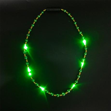 Bright light LED flashing necklace