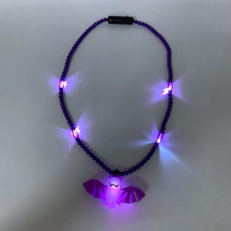 LED Bat luminous necklace
