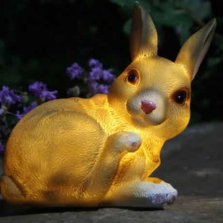 Outdoor solar light garden lamp animal ornament