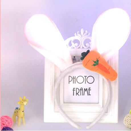 New luminous rabbit ear hair band