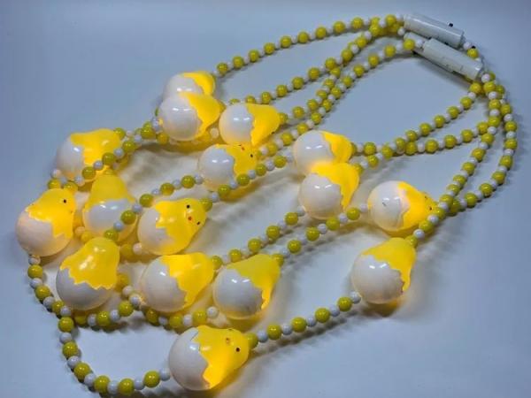 LED cute little chick luminous necklace