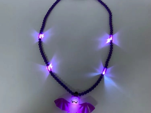 Halloween favor led flashing necklace