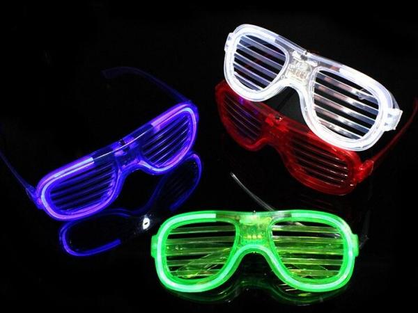Cold light shutter glasses