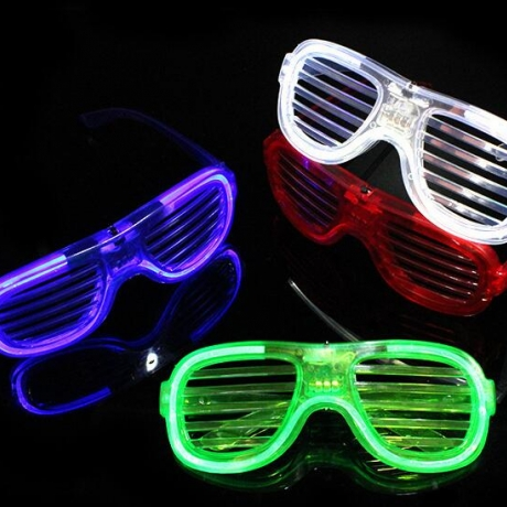 Cold light shutter glasses