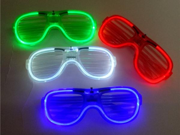 Led Shutter Shades Glasses