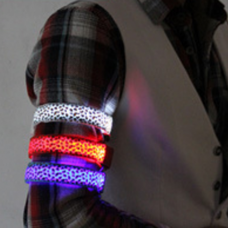 Camouflage luminous arm band