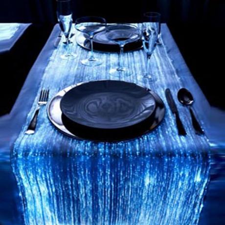 luminous fabric textile tablecloth