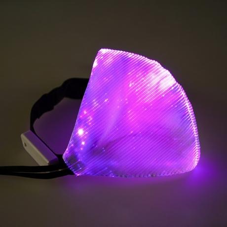 Luminous fabric Glow mouth muffle