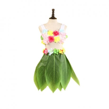 Hawaiian leaf skirt