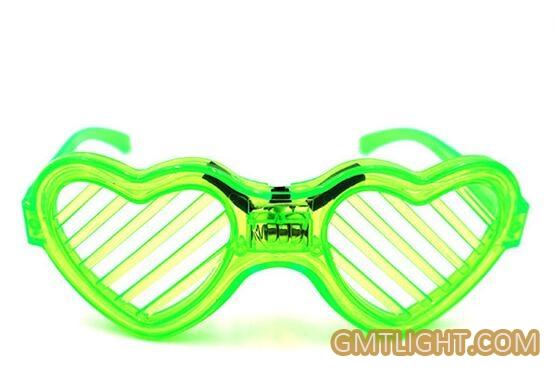 blinds luminous glasses