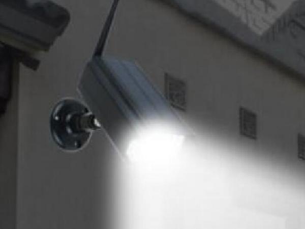 Solar simulation monitoring lamp outdoor LED wall lamp