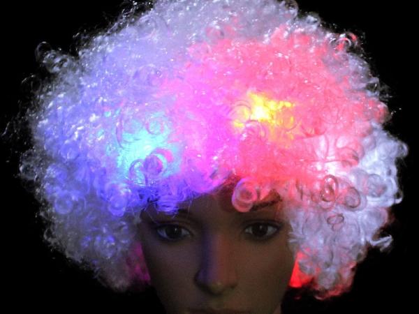 Brazilian Carnival favor LED flash exploding human hair