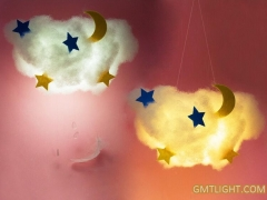 How to make colorful light clouds? How to diy clouds?