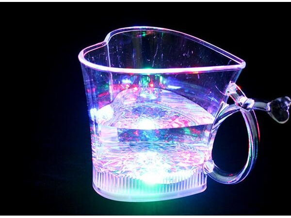 water drink induction LED luminous love cup