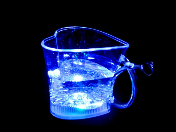 Love Shape Water Induction led Drinkware