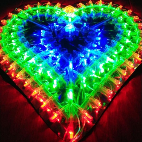 love LED landscape decoration lamp