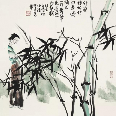 Cheng Haiqing's calligraphy works