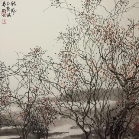 Feng Chunming's Painting and calligraphy works