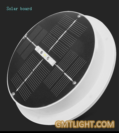 solar energy flying saucer lawn lamp