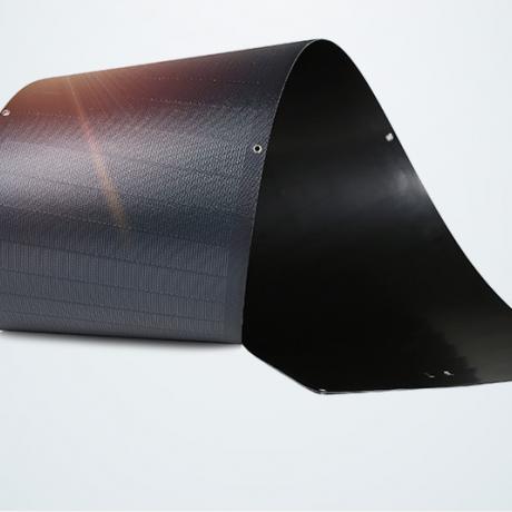 CIGS amorphous silicon crimpable solar panel