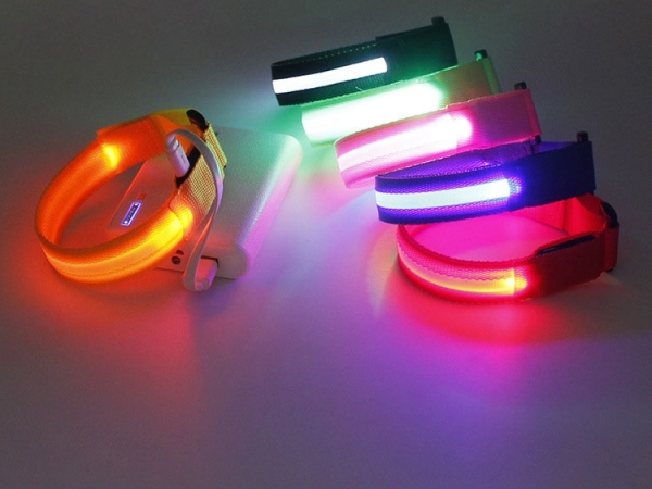 Night Running LED Charge Arm Band