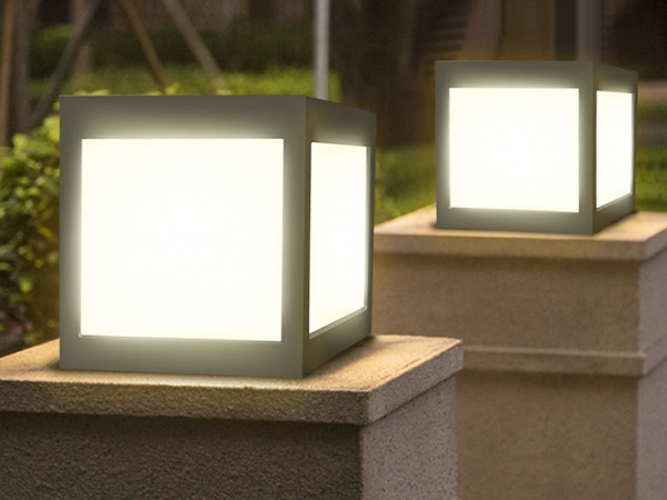 15*15cm solar led light wall lamp