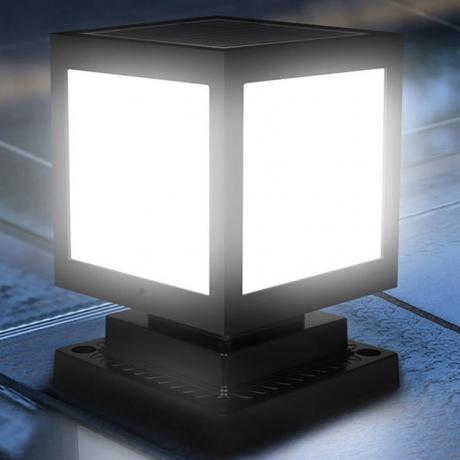 Solar power outdoor led lamp light