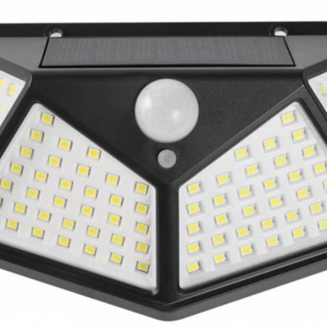 waterproof energy saving solar powered led wall light