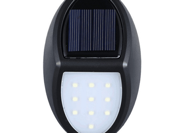 High brightness sensitive controlled light up LED solar wall lamp (LUL-010)