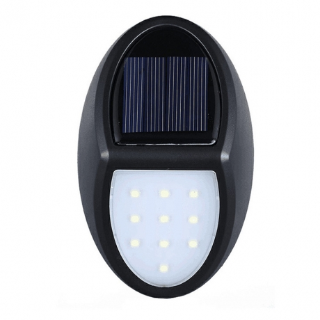 High brightness sensitive controlled light up LED solar wall light