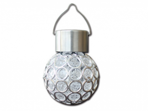 Solar ball hanging lamp