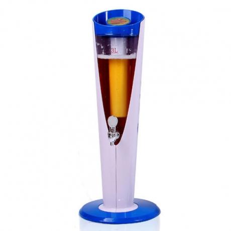 3L Customizable color wine tower dispenser