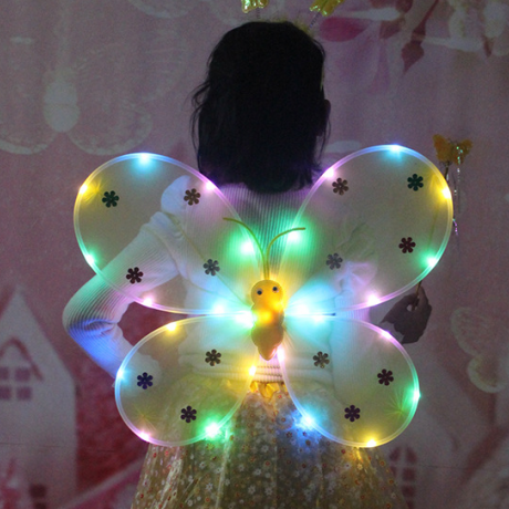 LED light angel fairy wings