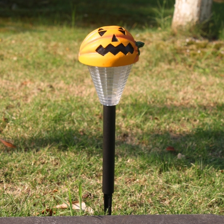 Arts And Crafts Polyresin Raw Material halloween solar stick lamp