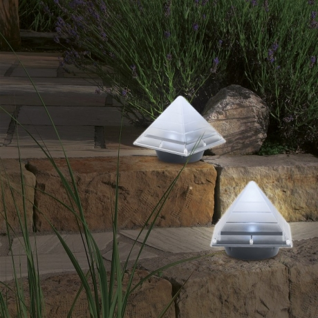 New product pyramid LED Buried Lawn Path Lamp