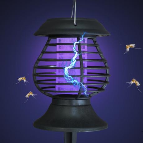 solar energy mosquito lamp