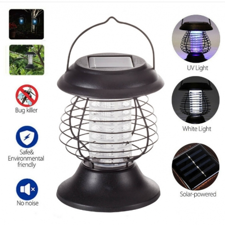 Rainproof Portable Hanging High-Voltage Mosquito Killer