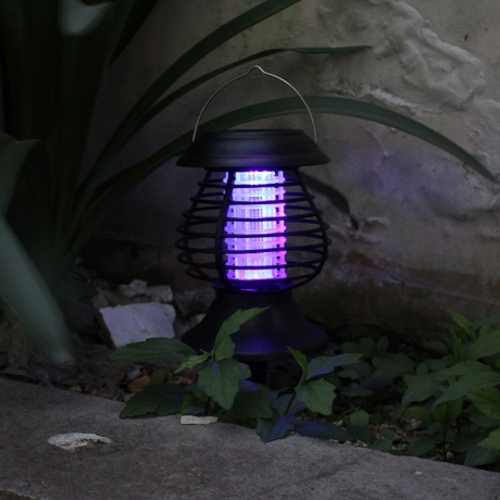 Suitable for Patios Lawns solar mosquitos killer lamp