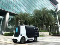 """New coronavirus epidemic""accelerated the application of unmanned delivery vehicles"
