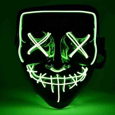 Party Rave Masquerade light up DJ LED party mask