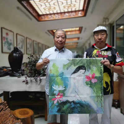 Mr. Su Wanshun, a calligrapher and painter, shares Mr. Li duoqiang's works