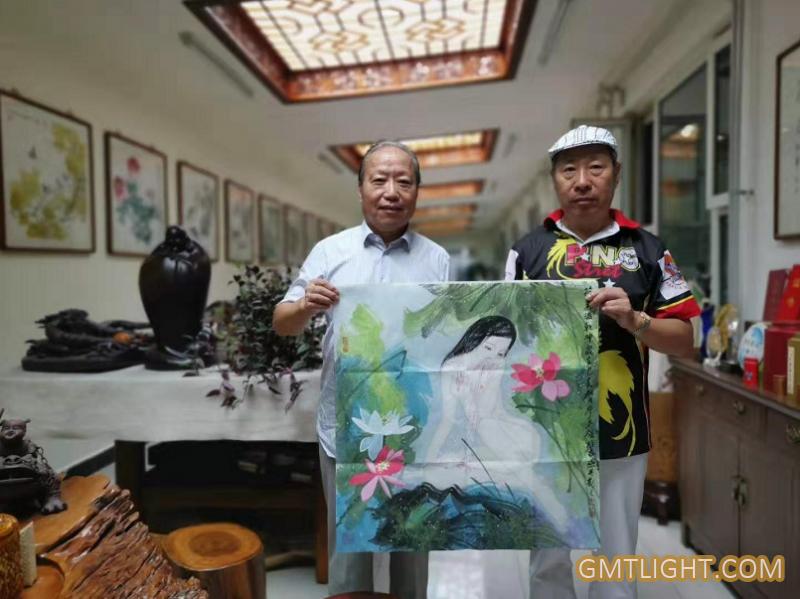 书画家苏万顺先生分享李多强先生作品