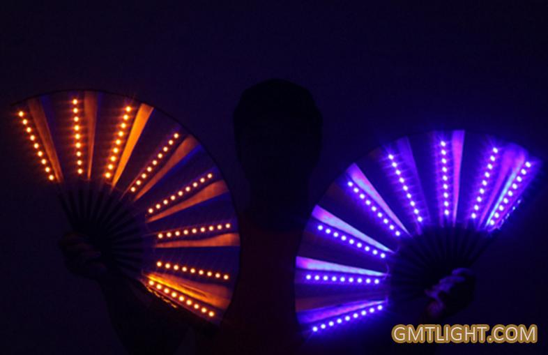 led flash fan
