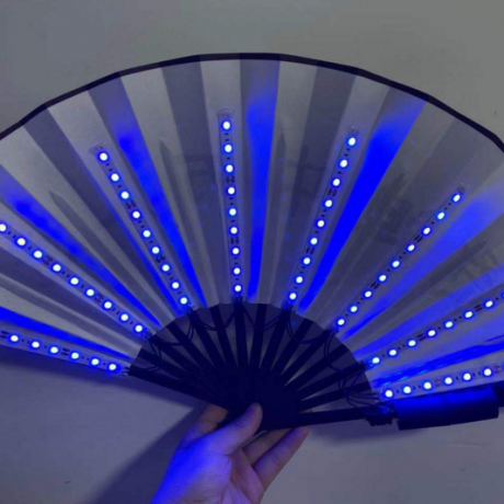 LED flash fan
