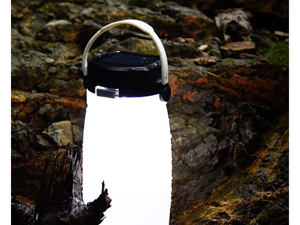 Multifunction solar powered hanging waterproof tent lamps LED phone emergency charger Solar camping