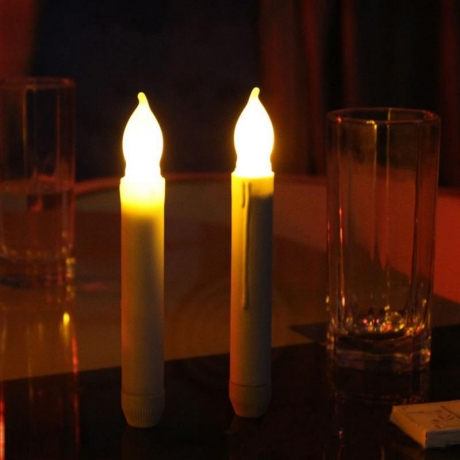 Flameless Christmas Candle light Xmas party LED Candle