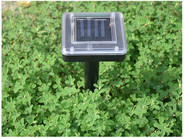 Solar ultrasonic mousetrap and snake repeller
