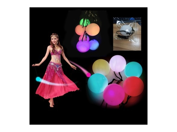 Hot Selling LED Poi Ball Thrown with Multicolor Led