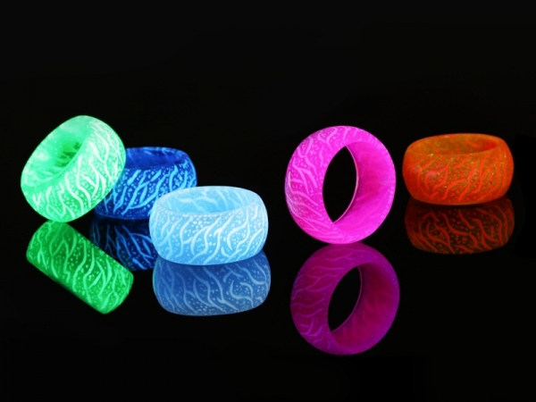 Personality fashion New Design Luminous Jewelry glow Ring